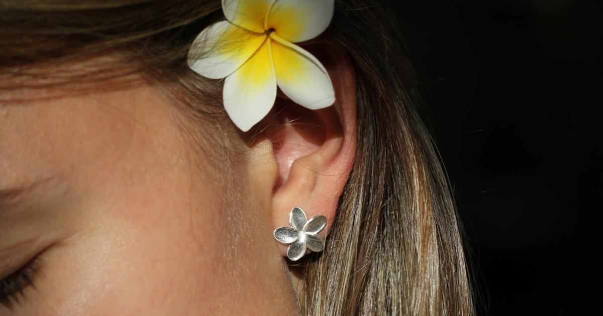 Mauritius frangipani jewellery collection
