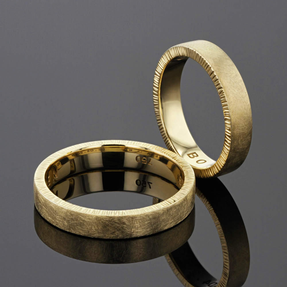 Gold wedding rings - Mauritius