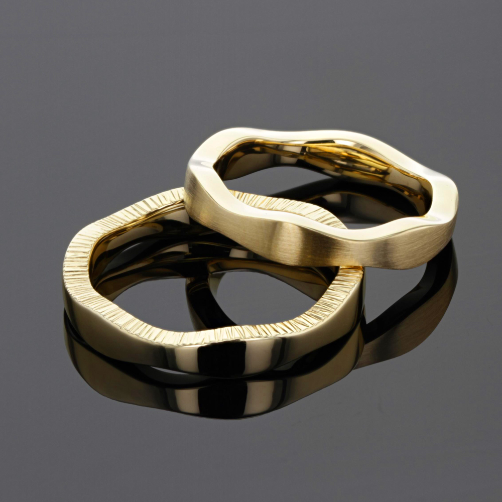 Unique wedding rings made in Mauritius