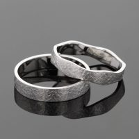 Custom made wedding rings Mauritius