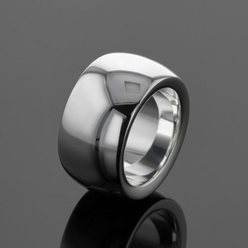 Silver polished rings Mauritius