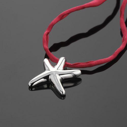 Polished seastar pendant Mauritius