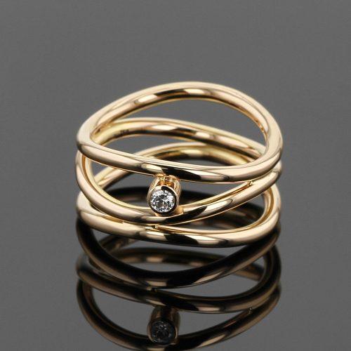 Rose gold ring designs Mauritius
