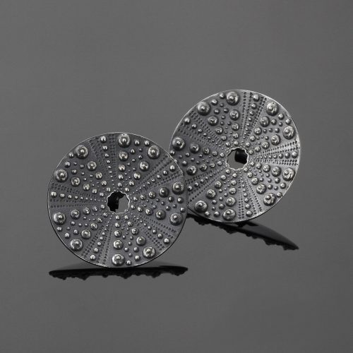 Oxidised sea urchin jewellery Mauritius