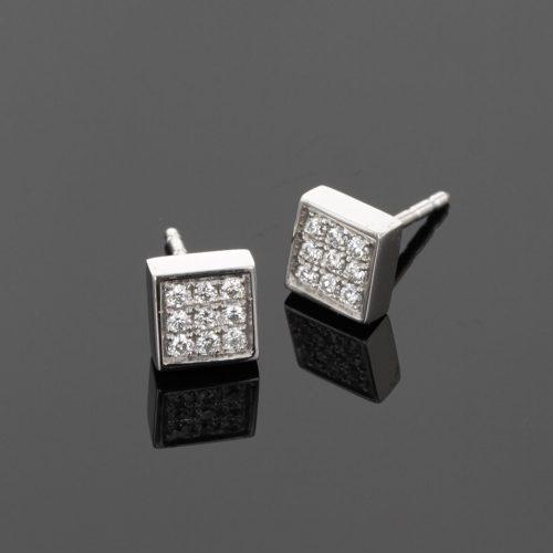 Diamond earrings Mauritius